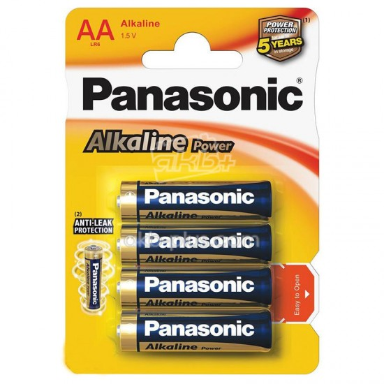Батарейка Panasonic ALKALINE POWER AA BLI 4 - купить