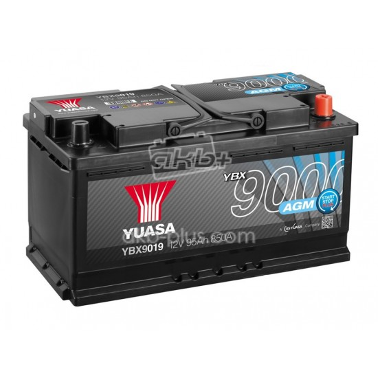 Аккумулятор Yuasa AGM Start Stop Plus Battery 95Ah