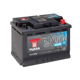 Аккумулятор Yuasa AGM Start Stop Plus Battery 60Ah