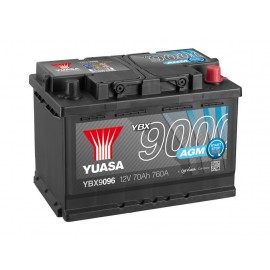 Аккумулятор Yuasa AGM Start Stop Plus Battery 70Ah