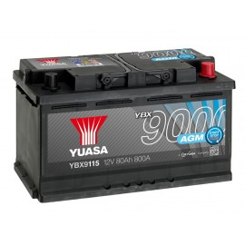 Аккумулятор Yuasa AGM Start Stop Plus Battery 80Ah