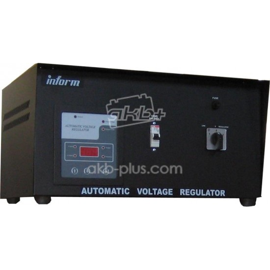 Стабилизатор Inform Digital 5kVA 1ph STD range w/o breaker - купить