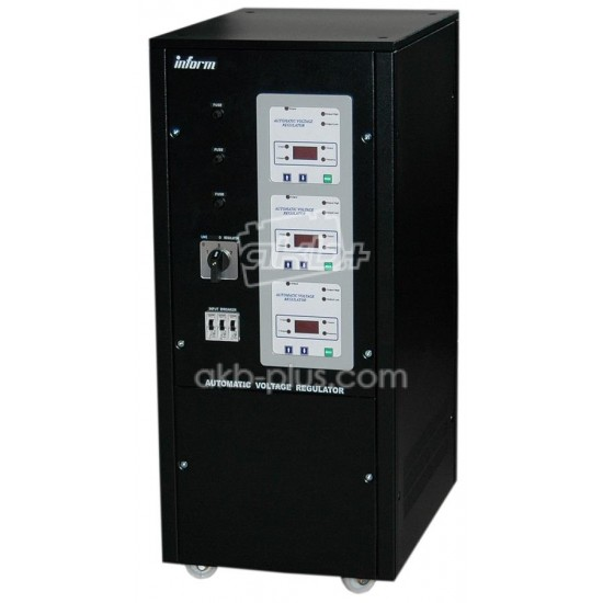 Стабилизатор Inform Digital 22.5kVA 3ph STD range with breaker - купить