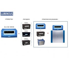 Инвертор Luminous Eco Volt S/W UPS 900VA, 12V