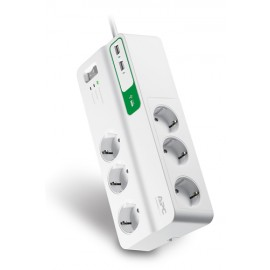 Фильтр APC Essential SurgeArrest 6 outlets + 2 USB (5V, 2.4A)
